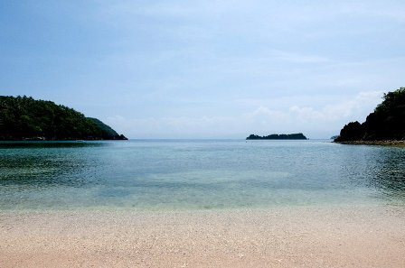Beach in Caramoan