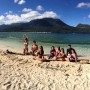 Guest at the White Island of Camiguin