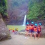 Guests at Pagsanjan Falls, Laguna