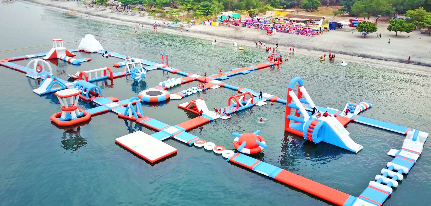 inflatable-island-water-playground-float-philippines-drone
